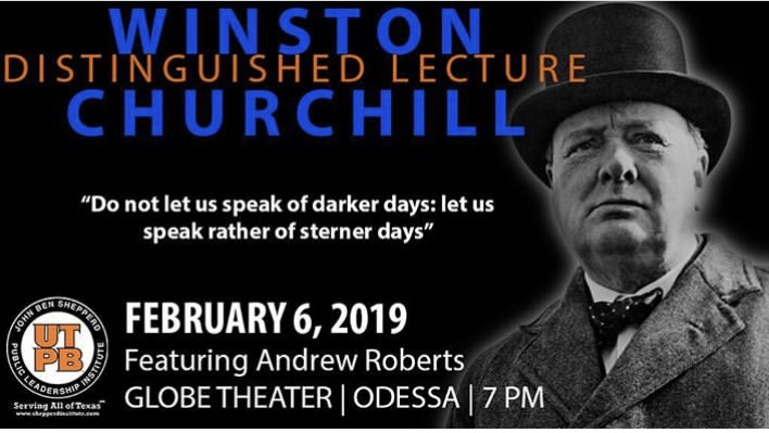 Winston Churchill Distinguished Lecture, February 6, 2019